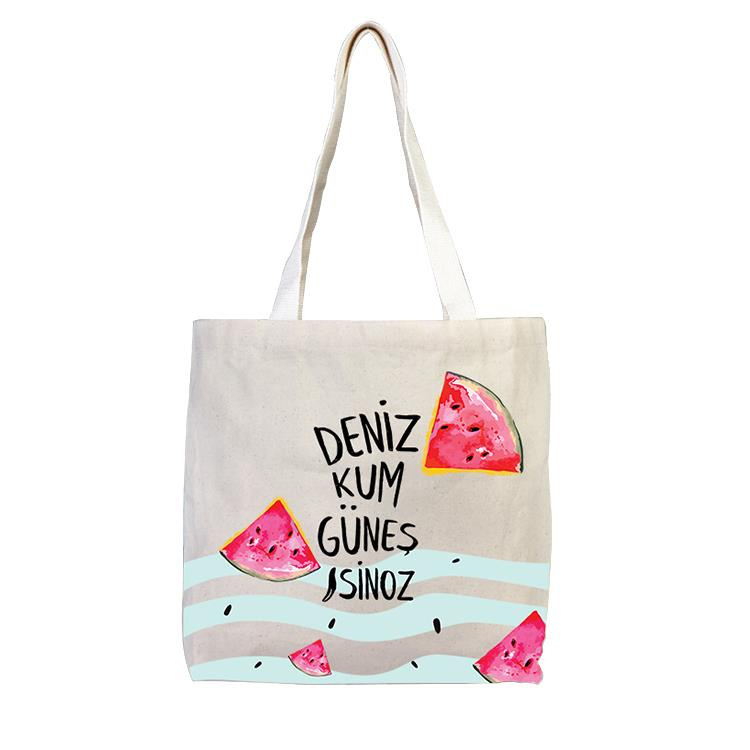 Sinoz Eco Friendly Organic  Bag (Watermelon)