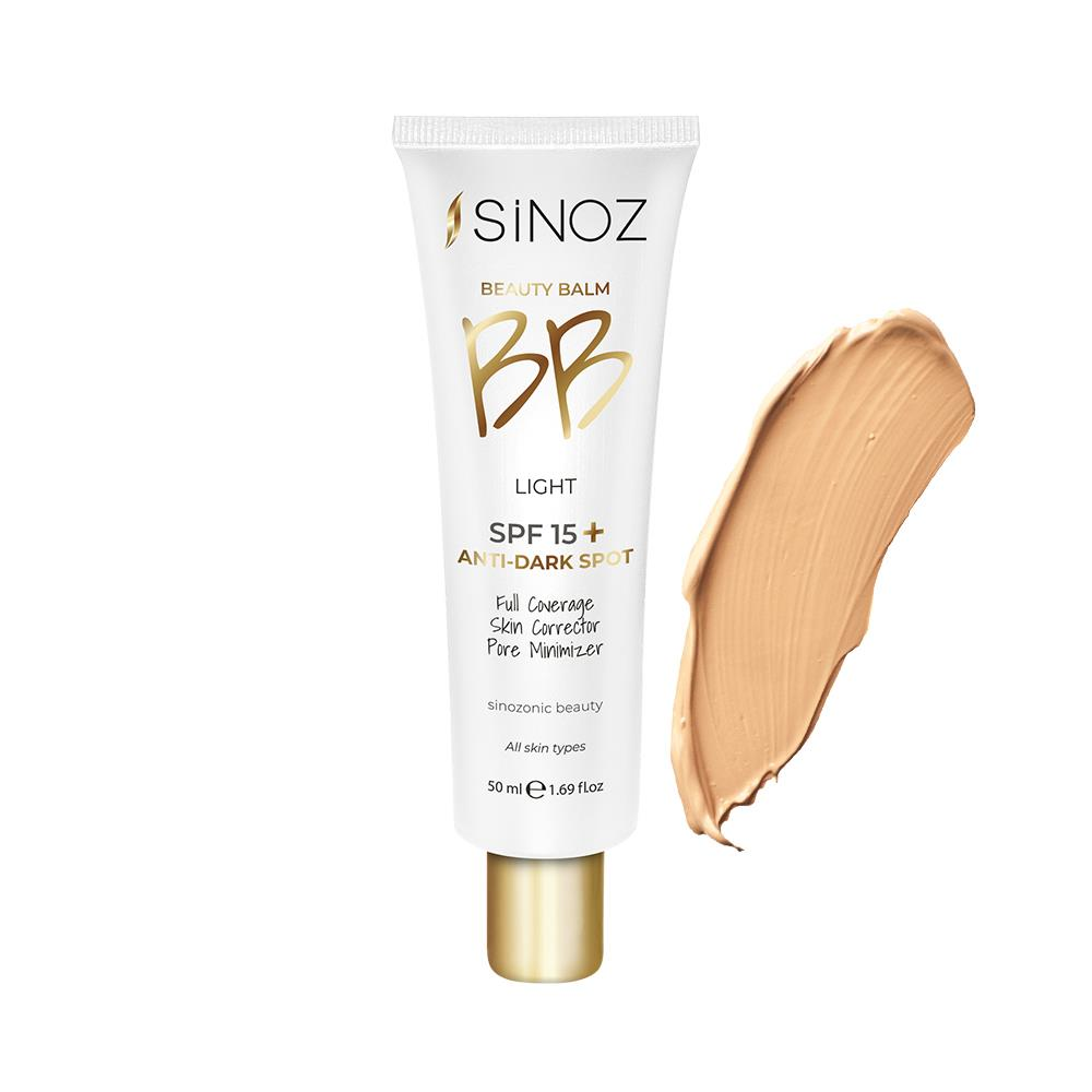 Sinoz Smoothing Super Foam BB - Light